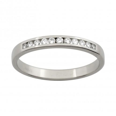 Обручка з декількома діамантами 941-1000
