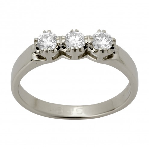Каблучка з декількома діамантами 941-1171