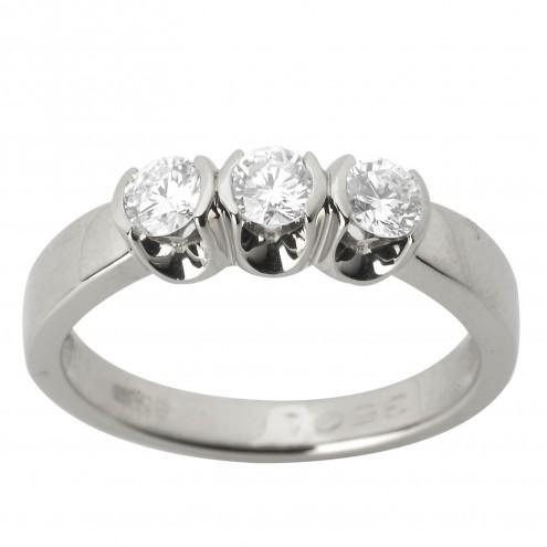Каблучка з декількома діамантами 941-1172
