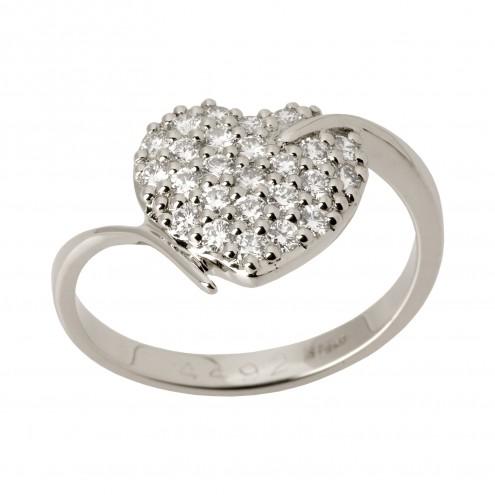 Каблучка з декількома діамантами 941-1336