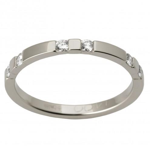 Обручка з декількома діамантами 941-1518
