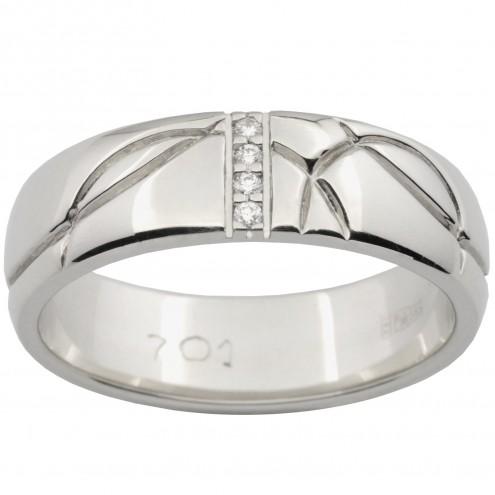 Обручка з декількома діамантами 941-1524