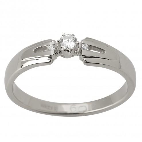 Каблучка з декількома діамантами 941-1560