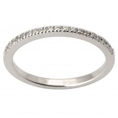 Обручка з декількома діамантами 941-1684