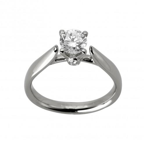 Каблучка з декількома діамантами 941-1747