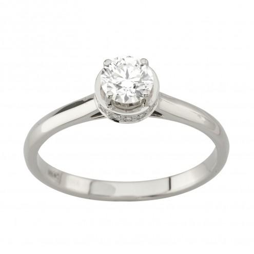 Каблучка з декількома діамантами 941-2026