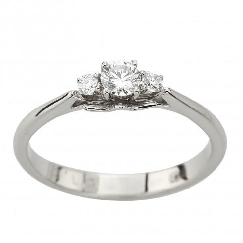 Каблучка з декількома діамантами 941-3041