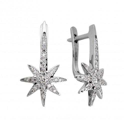 Сережки з декількома діамантами 942-0300