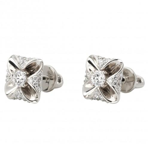 Сережки з декількома діамантами 942-1091