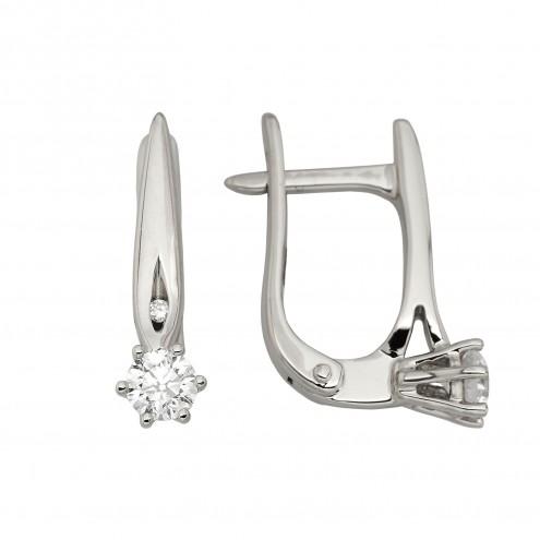 Сережки з декількома діамантами 942-1324