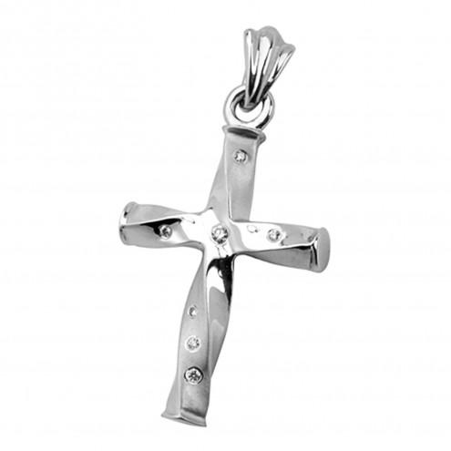 Хрест з декількома діамантами 949-0146