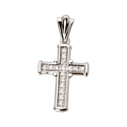 Хрест з декількома діамантами 949-0315
