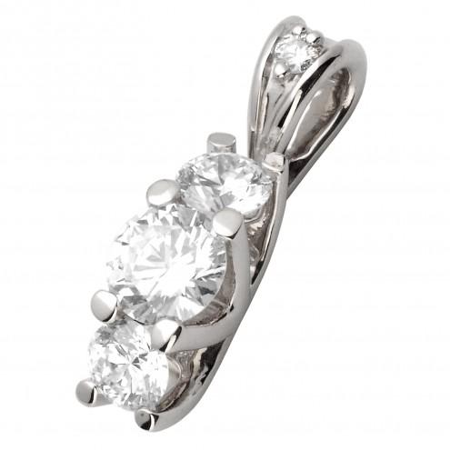 Підвіска з декількома діамантами 949-0606