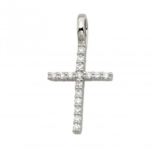 Хрест з декількома діамантами 949-0907