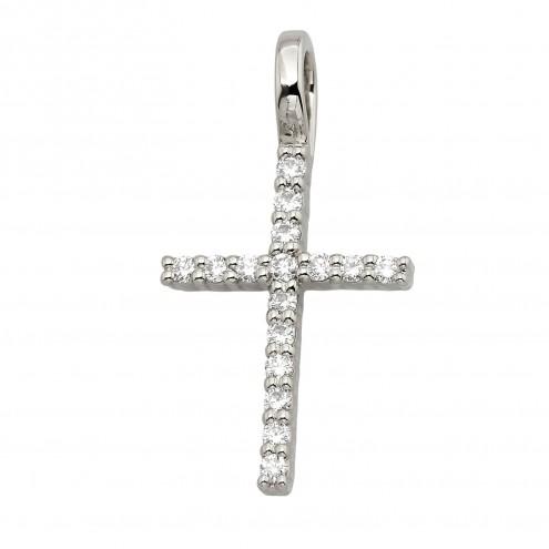 Хрест з декількома діамантами 949-4003