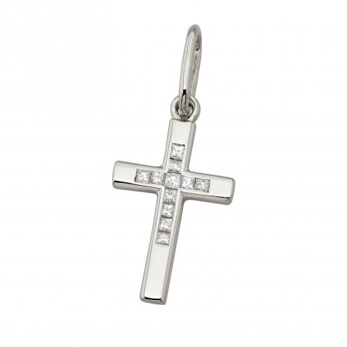 Хрест з декількома діамантами 949-4018