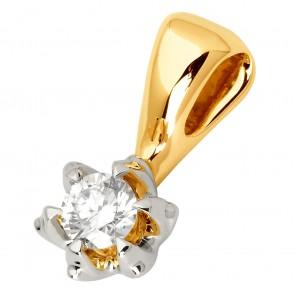 Підвіска з 1 діамантом 329-0778