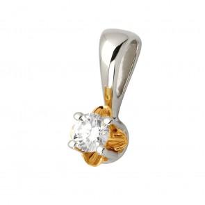 Підвіска з 1 діамантом 829-0578