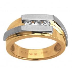 Перстень з декількома діамантами 841-0922