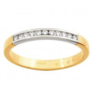 Обручка з декількома діамантами 841-1000