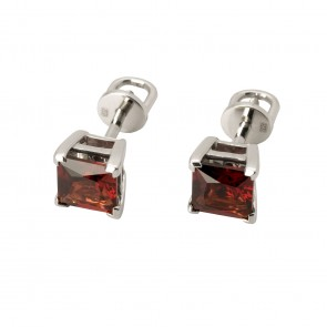 Сережки з кольоровим камінням 902-0686