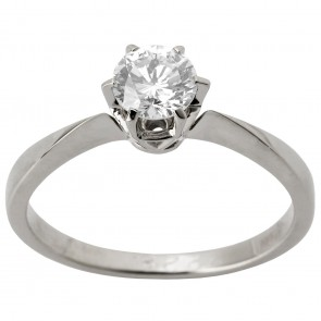 Каблучка з 1 діамантом 921-1181