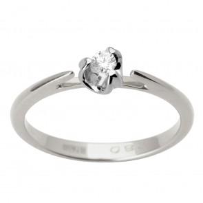 Каблучка з 1 діамантом 921-1694