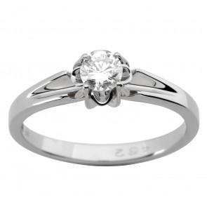 Каблучка з 1 діамантом 921-1913