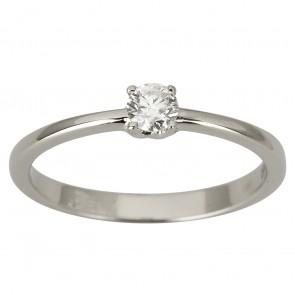 Каблучка з 1 діамантом 921-1921