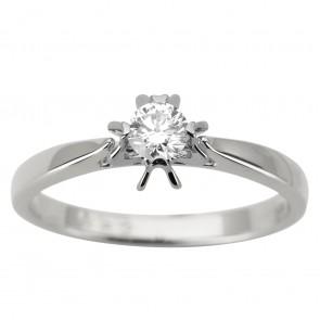 Каблучка з 1 діамантом 921-1937