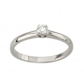 Каблучка з 1 діамантом 921-2055