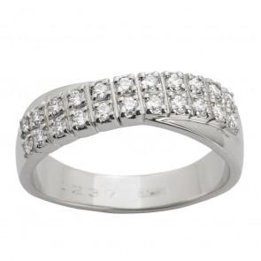 Каблучка з декількома діамантами 941-1434