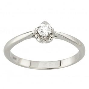 Каблучка з декількома діамантами 941-2032