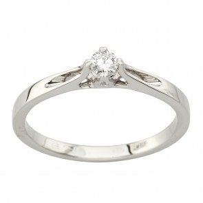 Каблучка з декількома діамантами 941-2059