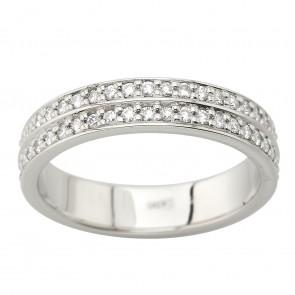 Обручка з декількома діамантами 941-2067