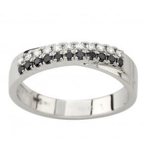 Каблучка з декількома діамантами 941-2196