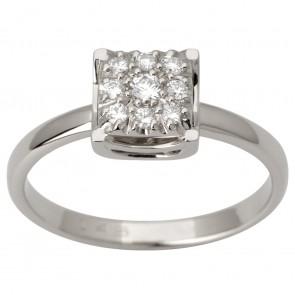 Каблучка з декількома діамантами 941-3000
