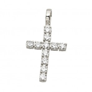 Хрест з декількома діамантами 949-4010