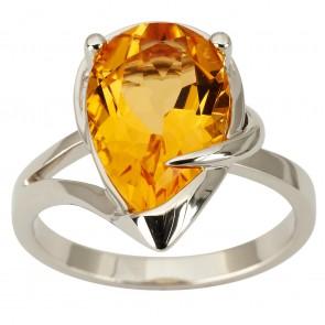 Каблучка з діамантами та кольоровим камінням 981-1877